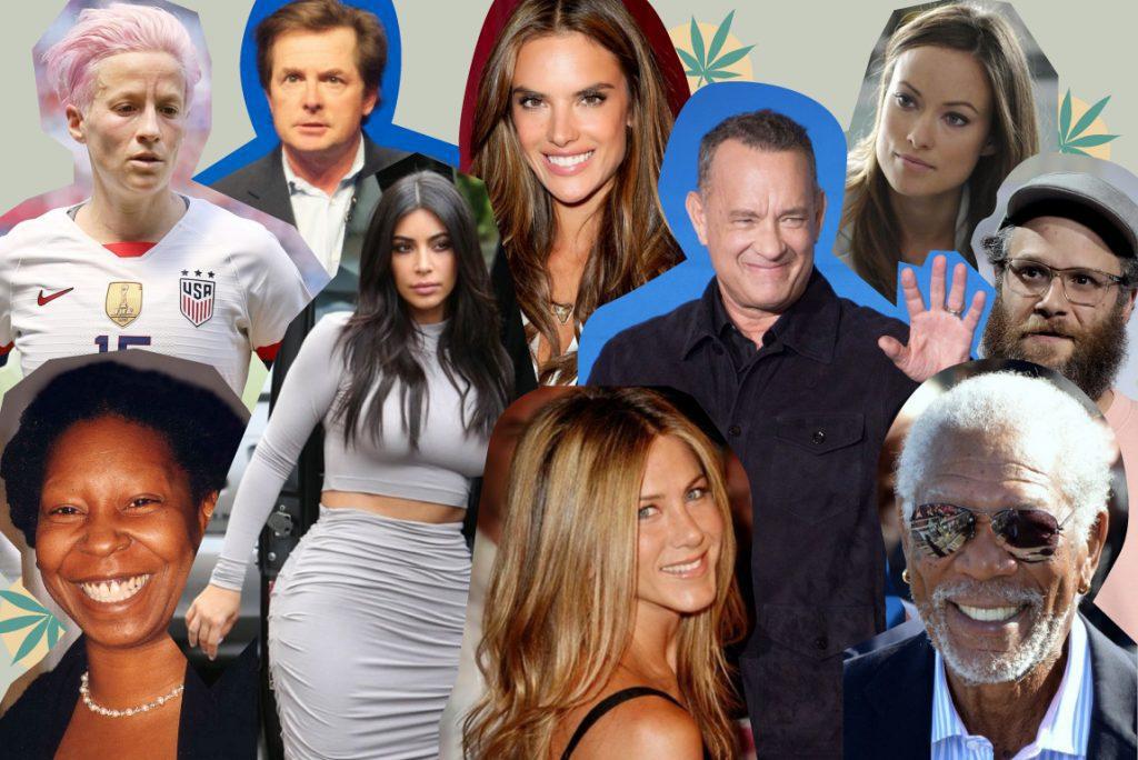 foto de famosos y celebrities que usan cbd