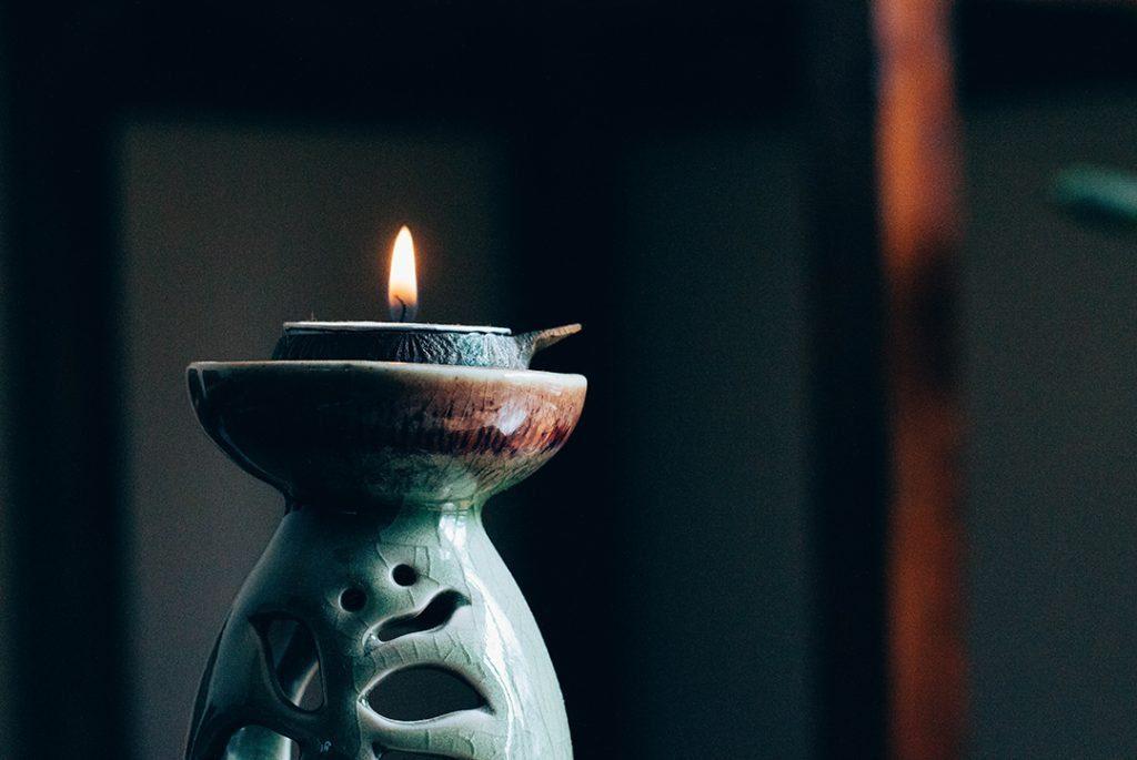 vela zen para ilustrar el post meditación y cbd